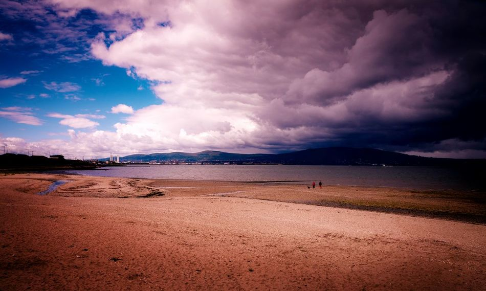 Rain Clouds Storm Clouds Gathering Holywood County Down Northern Ireland