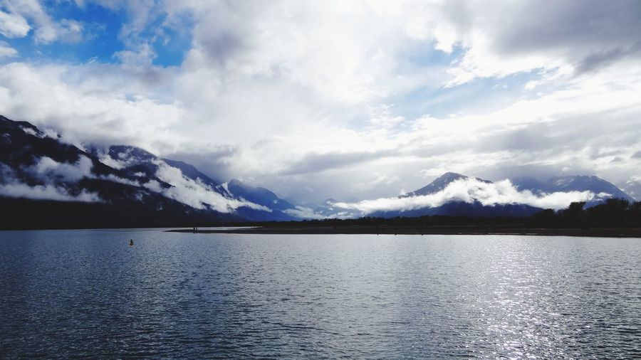 Mountain Seven Lake Cloud - Sky Scenics Nature Landscape Beauty In Nature Outdoors Water Mountain Range Tranquility No People Sky Tranquil Scene Snow Ice Cold Temperature Day Winter Wilderness Area