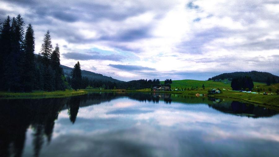 Austria Lake Outdoors Reflection