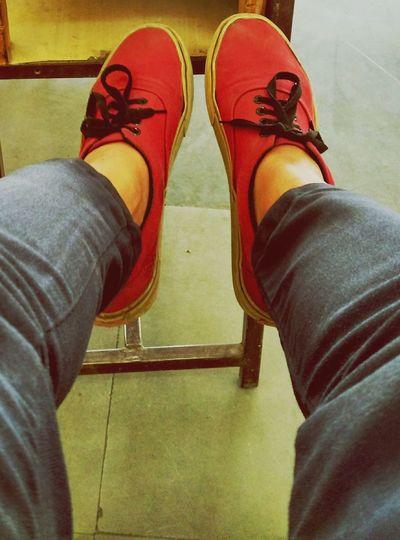 Vans Vansoffthewall Shoes <3 Love <3 Love It First Eyeem Photo