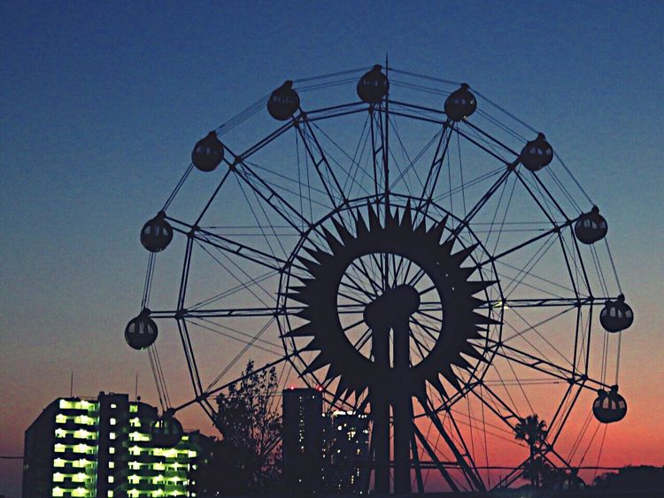 Ferris Wheel Themaparks Amusementpark Evening Evening Sky Sky Sky_collection Majichour 観覧車 かしいかえん