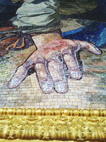 Art Gallery Art Art, Drawing, Creativity Berlin Siegessäule Mosaic Hands Details Architectural Detail