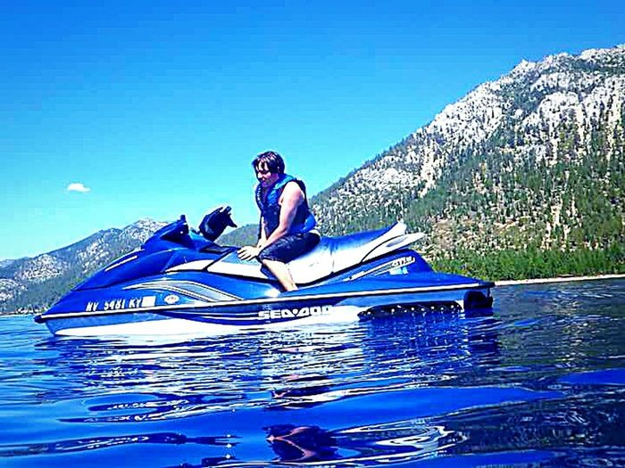 The Essence Of Summer The Following Enjoying Life Swimming :) Swimming In The Lake Water Having Fun With Kids Vacation Time ♡ Clear Blue Water Outdoor Photography Taking Photos ❤ Lake Tahoe Water Photography Waterproof Camera My Son ❤ Water Sports Jet Skiing My Happy Place  Sierra Nevada Mountains Mountains And Sky Relaxing Moments Reflections In The Water Reflections On The Water Water Photography Lake Tahoe Water Sports