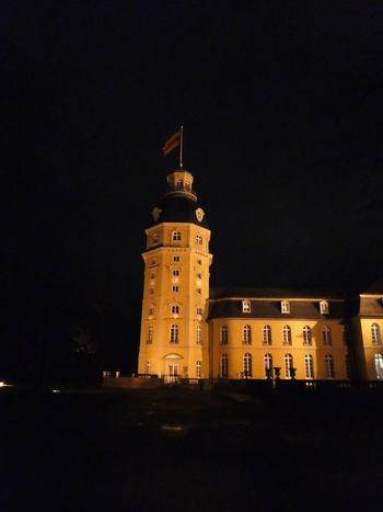 Castle Schloss Winter Night Lights Illumination Beleuchtung Wintertime Nachtfotografie Nightphotography Night Architecture Illuminated History Building Exterior Travel Destinations Tower No People Built Structure Outdoors City