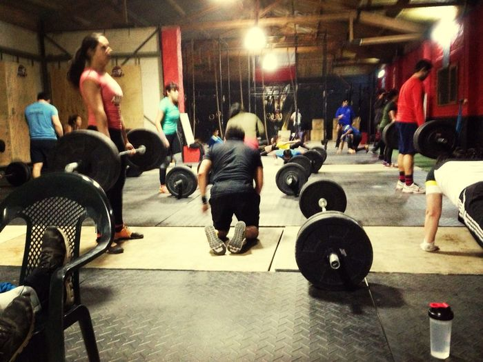 Crossfit Time! Sport Motivation Training