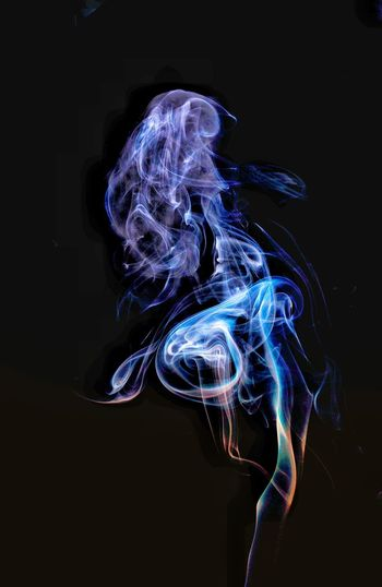 SMOKEART Alien Abstract Photography Abstractart Camshy Sonyalpha Sonya7r Sigma50mm1.4Art Black Background Technology Cyberspace Motion Abstract Blue Swirl Multi Colored Light Trail Close-up