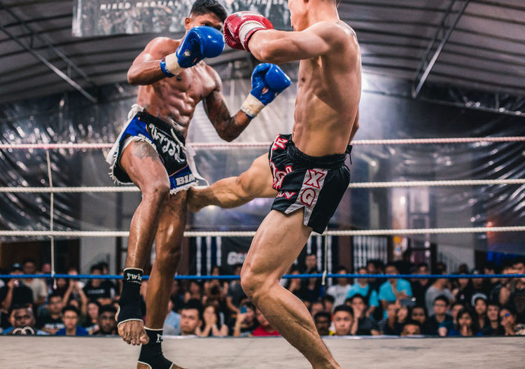 Alvin Vs. Ian (VIII) Sport Competition Exercising Men Athlete Vitality Strength Healthy Lifestyle Motion Competitive Sport Adult Lifestyles People Determination Sportsman Clothing Incidental People Real People Young Men Effort Muscular Build Human Muscle Fitness Fit Fighting Fighters Muay Thai Kick Kicking Attack