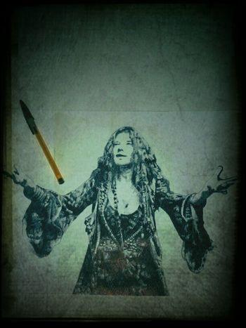 Art Drawing My Art My Artwork Janis Joplin