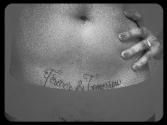 Tatted it so they know its real ...