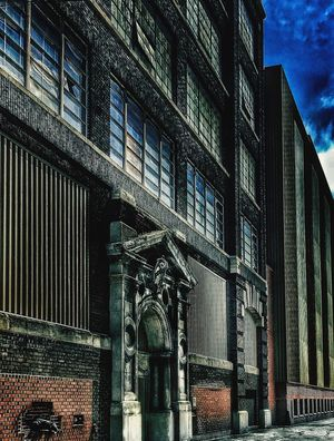 Cleveland Strong Architecture Building Exterior Built Structure Outdoors Day Low Angle View No People City