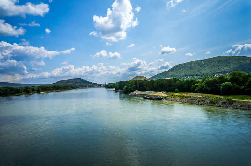 Slovakia Beauty In Nature Cloud - Sky Day Lake Mountain Mountain Range Nature Nautical Vessel No People Outdoors Scenics Sky Tranquil Scene Tranquility Tree Water Waterfront