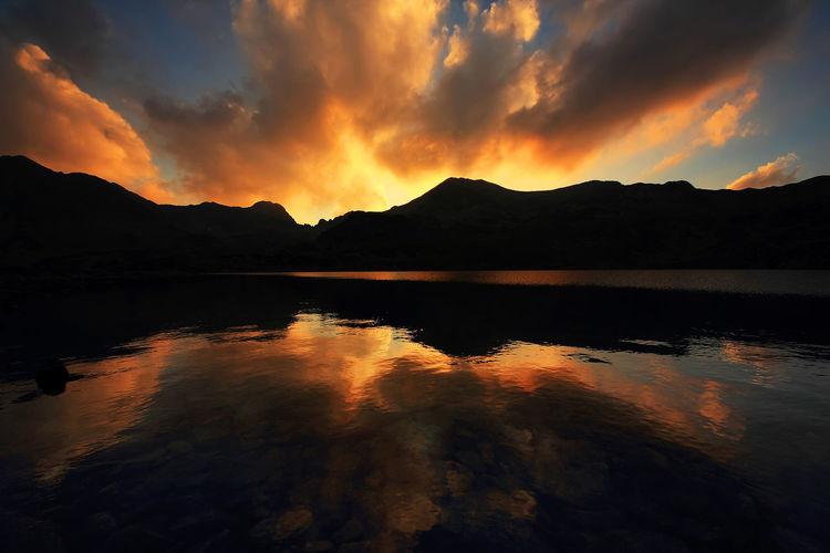 Canon Beauty In Nature Camping Europe Lake Landscape Landscape_Collection Mountain National Park Retezat Nature No People Outdoors Retezat Romania Scenics Summer Tranquility Travel Camp