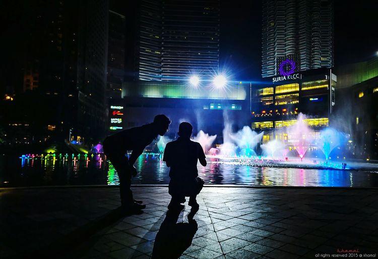 Colours of the nights EyeEm Best Edits EyeEm Best Shots - The Streets VSCO Streetphotography Night Photography Nightphotography Streetcolour Hdr_Collection Suria KLCC EyeEm Best Shots - People + Portrait