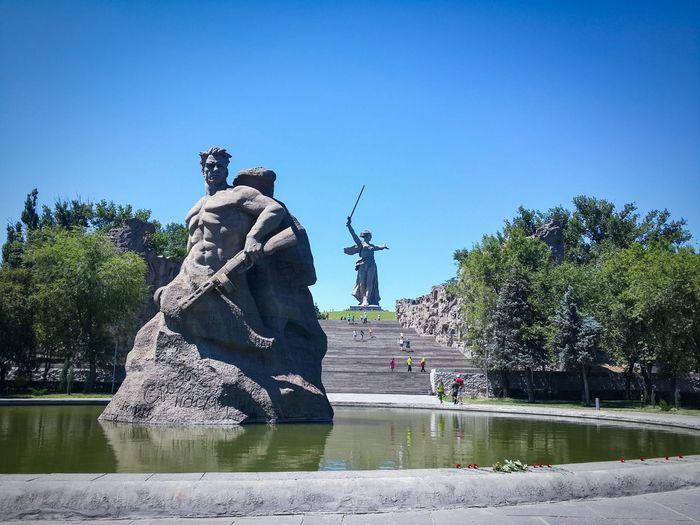 Sky Cityscapes Памятник воинской славы родина_мать родинамать