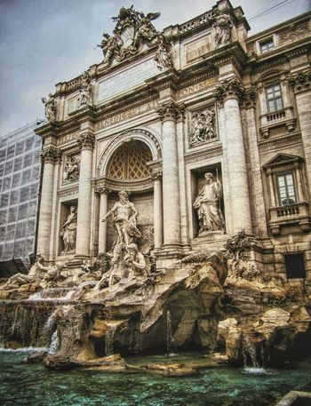 Trevi Fountain Italy Rome I LOVE ROME❤ Historical Monuments Beauty_collection Fountain_collection Roman Architecture Roman Ruins Rome View Eye4photography  EyeEm Masterclass