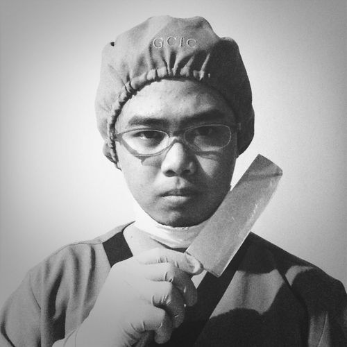 Blackandwhite Portrait Black & White Surgery Doctor_quack