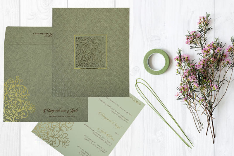 Give your wedding a special feel with our exclusive Green, Matt paper, Indian laser cut wedding invitation cards. This beautiful laser cut cards is made from finest quality paper, designs and patterns. Laser Cut Invitations Laser Wedding Invitaitions Wedding Cards Cheap Laser Cut Wedding Invitations Laser Cut Cards Laser Cut Wedding Invitations Wedding Invitation Wedding Invitations Laser Cut