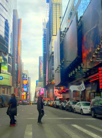 New York City TimesSquare Streetphotography Christmas HDR Vanishing Point The Best Of New York