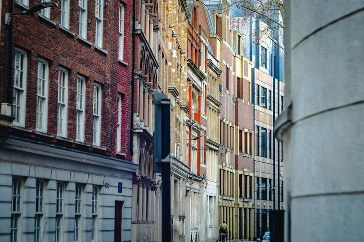 Little Britain Building Exterior Architecture Built Structure Building Window City No People Day Low Angle View Residential District Outdoors Apartment City Life Full Frame Town In A Row Brick London Terraced Houses LITTLE BRITAIN