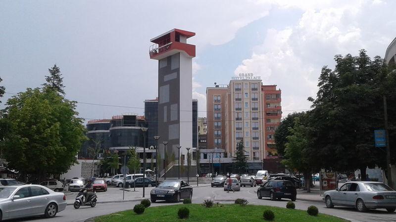 Architecture Building Exterior City Outdoors LoveKorca Albania Car Urbanphotography Street Photography Ilovealbania Vacations ALBANIA❤️ no No Filter