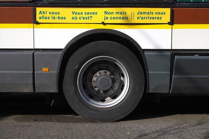 Fake bus line 2018 2018-02 2018-02-24 Mode Of Transportation Transportation Land Vehicle Wheel Yellow No People Outdoors Bus