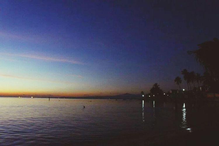 between darkness and light. Enjoying The Sun Sea Relaxing Swimming First Eyeem Photo