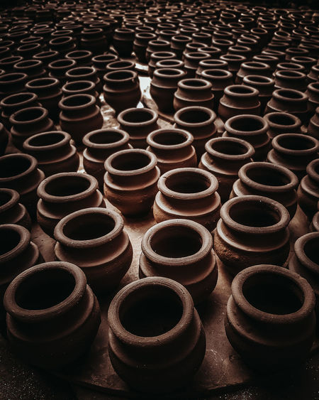 pottery Street_perfection Street_photography Lensonstreets Everydayindia Mumbai Pattern Streetphotographyindia Streetphotography Pottery Metal Industry Industry Stack Backgrounds Full Frame Arrangement Business Finance And Industry Textured  Geometric Shape For Sale