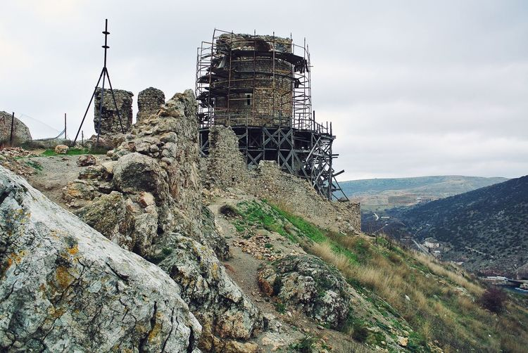 Old fortress in reconstruction