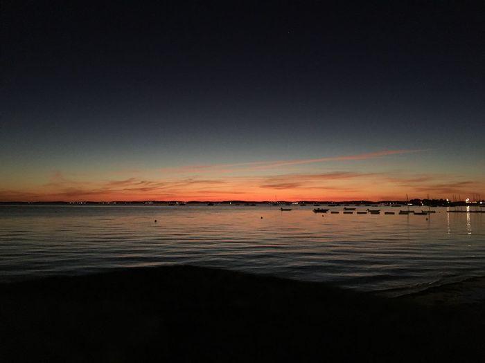 Sunset France Bassin D'Arcachon RedSky
