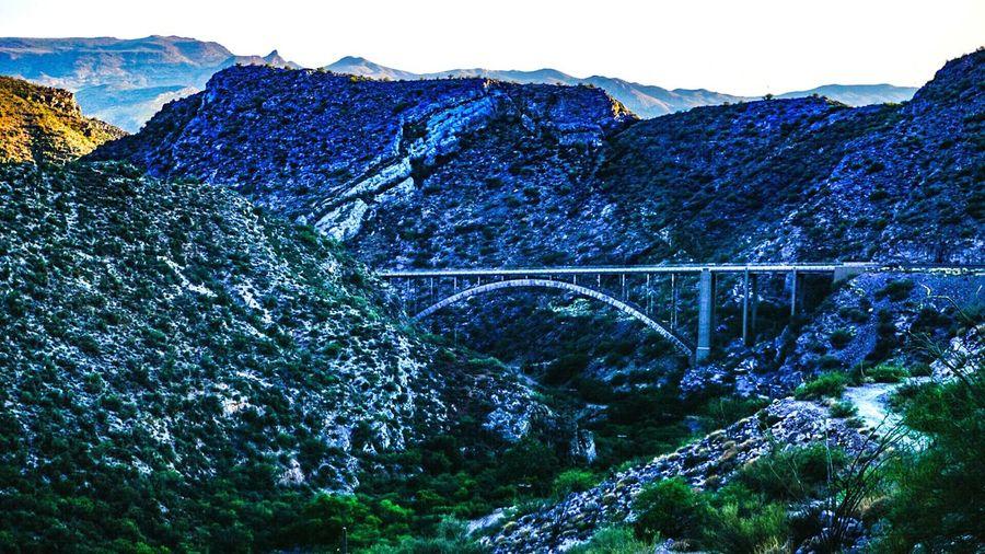Route 66 Tontonationalforrest Bridge Highway Arizona Landscape Bridgescape