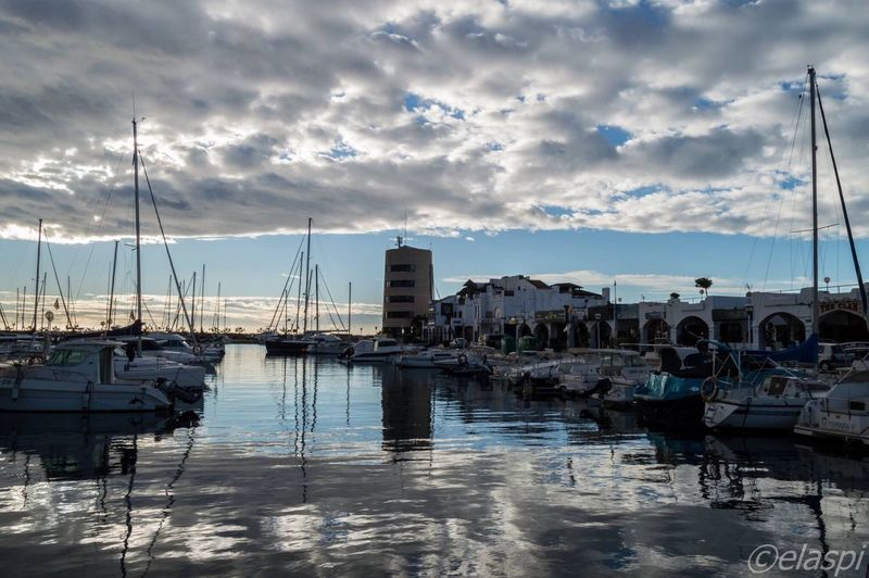 Puerto De Aguadulce Sky Moored Nautical Vessel Water Transportation Outdoors Building Exterior Mast Harbor Mode Of Transport Sailboat No People Cloud - Sky City Sea Day Architecture Nature Yacht Beauty In Nature EyeEm Nature Lover
