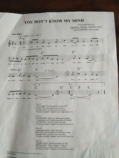 This is the song I'm gonna sing open Mike when ready old blues sound from 1920s Music Singer  Open Mike Blues Crumpled Paper Ink Instructions Paper Old-fashioned Text Handwriting  History Close-up Typewriter Typewriter Love Letter Typescript Postage Stamp Valentine Card Mailbox Page Alphabet Lined Paper