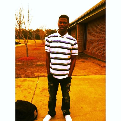 The Other Day Tho, Polo, White Vans , Rip Jeans