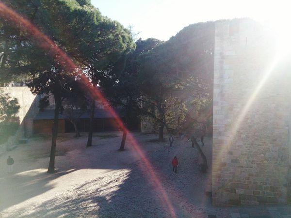 Lisboa Castelo De São Jorge Amazing Light Effects Inner Sanctum
