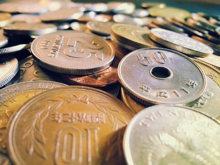 Touch of history.. EyeEmNewHere World Heritage Coins Collection Wealth Currency Finance Indoors  No People Coin Full Frame