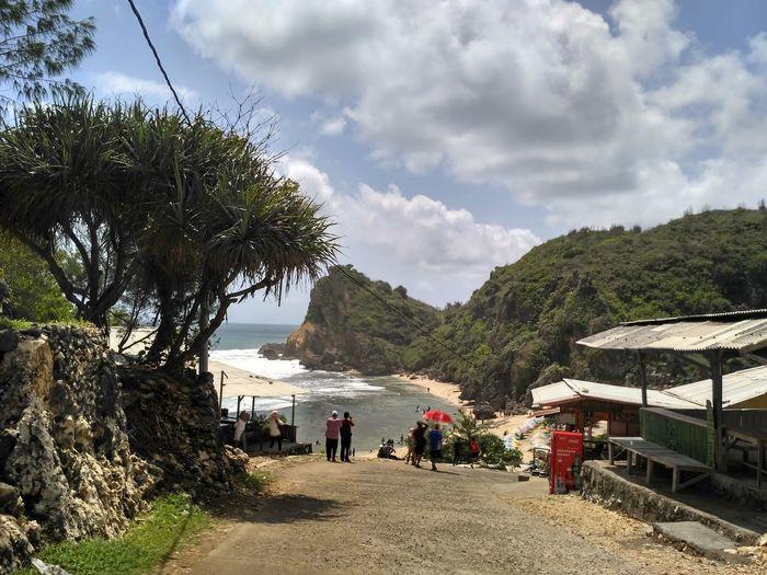 Beach Outdoors Cloud - Sky Nature Sea Sky Vacations EyeEm Selects No People