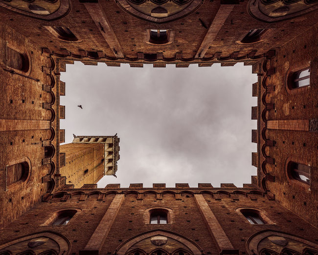 Moody Sky Architecture Building Exterior Built Structure Cloud - Sky Day Europe Italy Low Angle View Moody No People Outdoors Sky Tourism Travel Destinations