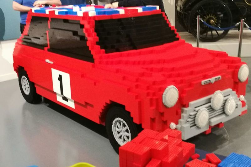 LEGO Car Made Of Lego Wow That's So Cool !! Build