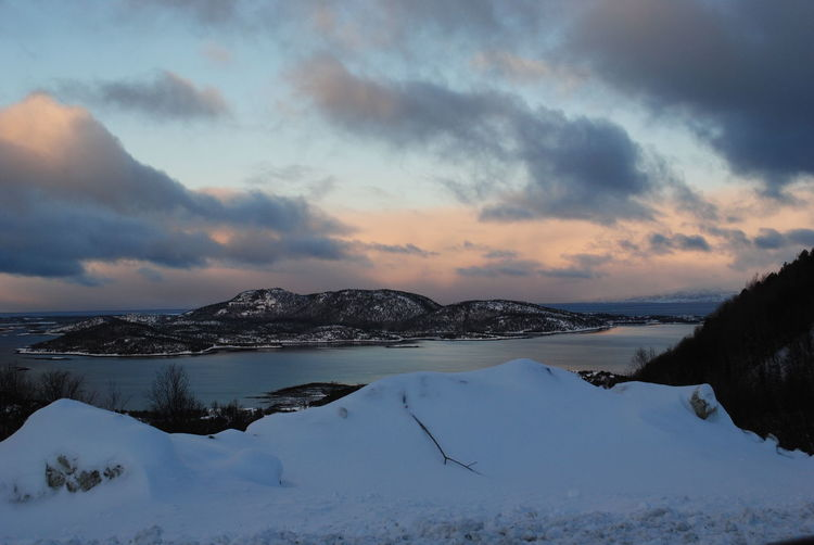 Norway Beauty In Nature Cold Temperature Idyllic Landscape Sky Snow Winter