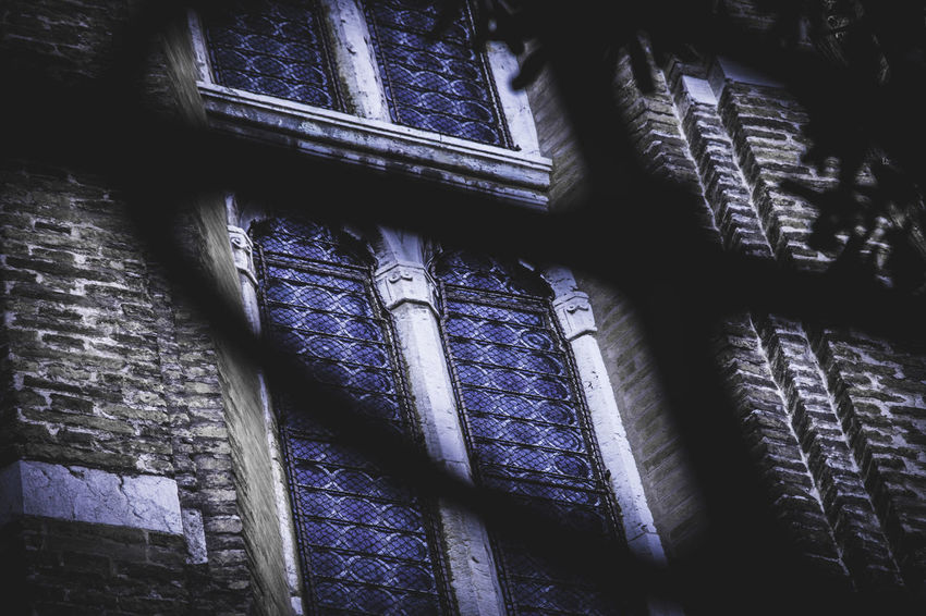 Venice, Italy Architecture Blue Built Structure Close-up Day Full Frame History Indoors  Low Angle View No People Window