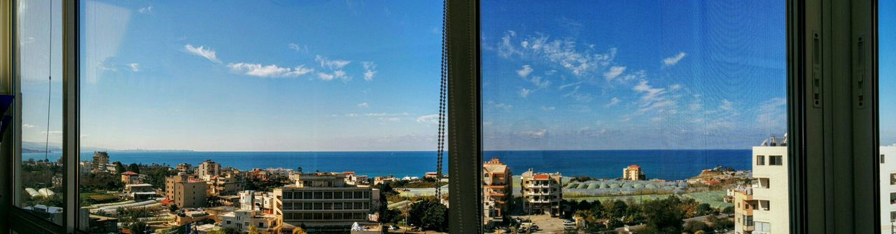 Good Morning Byblos From My Living Room Blue Sky Blue Sea Mediterranean  Basin