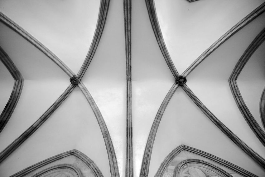 Salisbury Cathedral Ceiling Salisbury Cathedral  Arch Architectural Feature Architecture Architecture And Art Backgrounds Black And White Blackandwhite Building Built Structure Ceiling Design Indoors  Pattern The Past