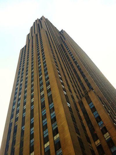 City Skyscraper Modern Cityscape Apartment Urban Skyline Façade Window Architecture Building Exterior Tall - High Tower Building Story High Rise Tall Wide Shot Art Deco Block Shape