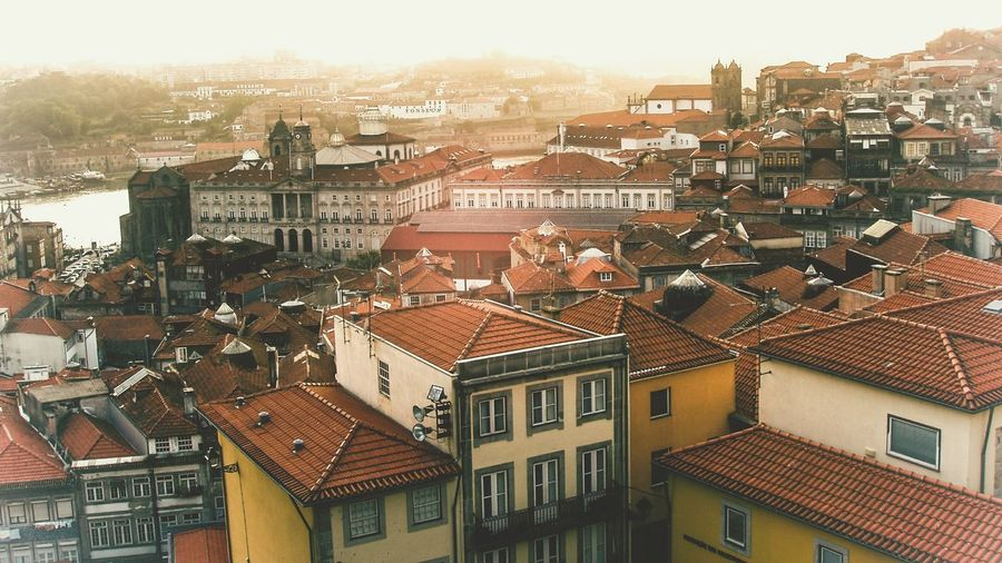 Oporto, Portugal Oporto Oportolovers Porto, Portugal Evening Light Evening Sun Vintage Filter Learn & Shoot: Leading Lines Rooftop View  Roofs Learn & Shoot: Balancing Elements Travel Travel Photography Travel Destinations Check This Out EyeEm Gallery Skyline Cityscape City Skyline Urban Landscape Urban Exploration Urban Architecture TakeoverContrast The City Light