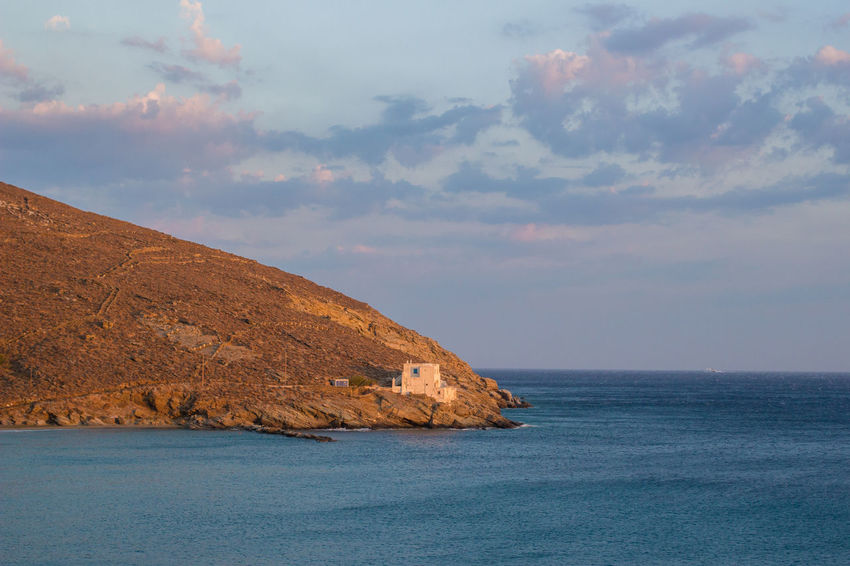 August Tinos Greek Island Tinos Greece Young Beatiful Nature Beauty In Nature Boat Holydays Idyllic Landscape Landscapes Summer Tinos