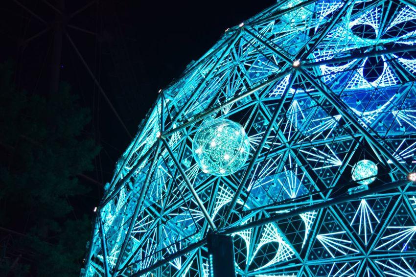東京ドーム イルミネーション Nikon D3300