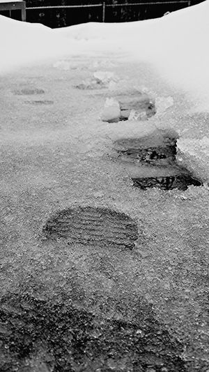 EyeEm New Jersey New Jersey How's The Weather Today? Notes From The Underground Black & White Footprints