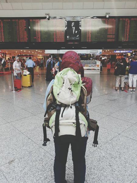 Goodbye Istanbul. Boarding Travel SUMMER BREAK