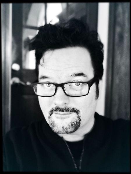 Art for Clark Kent's Sake. #Selfie Portrait