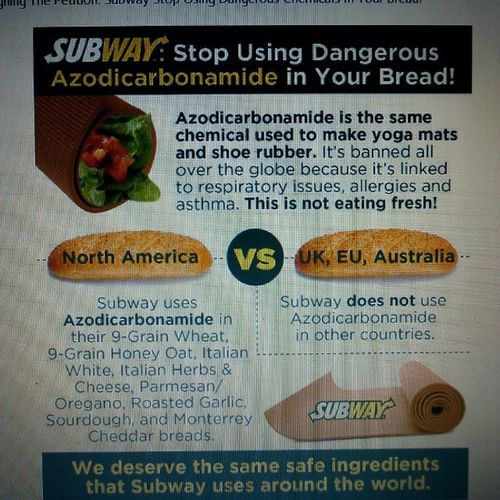 We are almost there, continue your support... FoodBabeArmy NoWaySubway